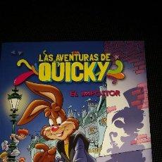 Cómics: LAS AVENTURAS DE QUICKY ** EL IMPOSTOR ** DE NESTLE ** COMO NUEVO. Lote 210912826