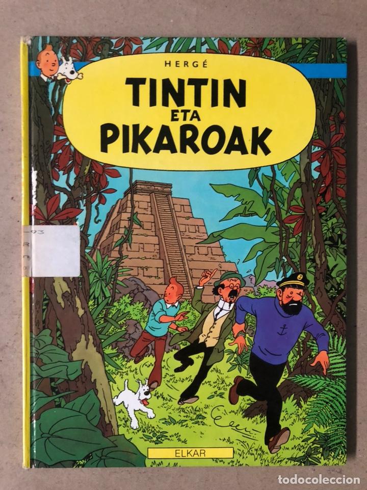 TINTÍN ETA PIKAROAK. HERGÉ. ELKAR ARGITALETXEA 1984. EN EUSKERA. TINTINEN ABENTURAK. (Tebeos y Comics - Comics otras Editoriales Actuales)