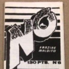 Cómics: NO, EL FANZINE MALDITO N°6 (1986, BILBAO). ORIGINAL. ALEX DE LA IGLESIA, BIAFFRA, ROTAETXE, HILARIO,. Lote 210982262
