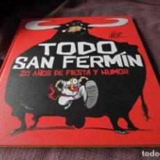 Cómics: TODO SAN FERMÍN, 20 AÑOS DE FIESTA Y HUMOR, 1992-2011 - CÉSAR OROZ. Lote 211400326