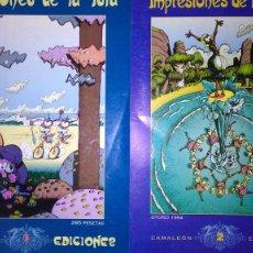 Cómics: * IMPRESIONES DE LA ISLA * COLECCIÓN COMPLETA * NÚMEROS 1 Y 2 - AÑOS 1993-1994 * MUY BUEN ESTADO *. Lote 211417174