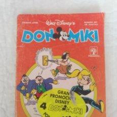 Comics : COMIC DON MIKI N° 657. SEMANARIO JUVENIL. EDITORIAL PRIMAVERA, 1989. Lote 211420825