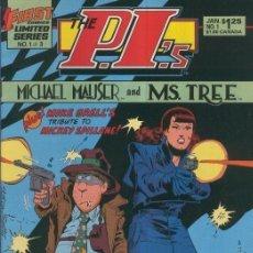 Cómics: P.I,S: MICHAEL MAUSER AND MS.TREE: NUMERO 01 DE 03. Lote 211436027