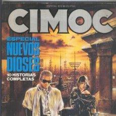 Cómics: CIMOC ESPECIAL NUMERO 10: NUEVOS DIOSES (ALGO AVIEJADO). Lote 211436030