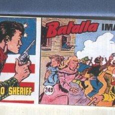Cómics: EL PEQUEÑO SHERIFF FACSIMIL NUMERO 249: BATALLA IMAGINARIA. Lote 211436135