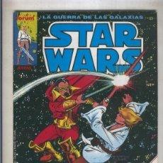 Cómics: LA GUERRA DE LAS GALAXIAS: STAR WARS NUMERO 05 (NUMERADO 1 EN TRASERA). Lote 211436289