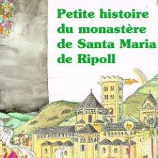 Cómics: PETITA HISTORIA DU MONASTEREDE STA. Mª DE RIPOLL (FRANCÉS). PILARIN BAYES. EDIT. MEDITERRANIA. Lote 211440311