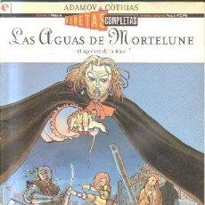Cómics: LAS AGUAS DE MORTELUNE. EL AJEDREZ DE LA RATA. Nº 1. A-COMIC-5542,5. Lote 277725193