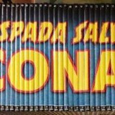 Cómics: LA ESPADA SALVAJE DE CONAN COLECCION COMPLETA PLANETA DE AGOSTINI 90 TITULOS. Lote 211472902
