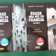 Cómics: ERASE UNA VEZ EN FRANCIA - COLECCION COMPLETA DE 3 ALBUMES. Lote 211498167