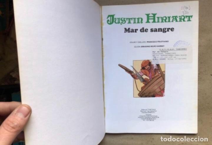 Cómics: JUSTIN HIRIART (MAR DE SANGRE, VIAJE MALDITO Y EL SECRETO). LOTE 3 CÓMICS DE FRUCTUOSO HARRIET. - Foto 8 - 211521530