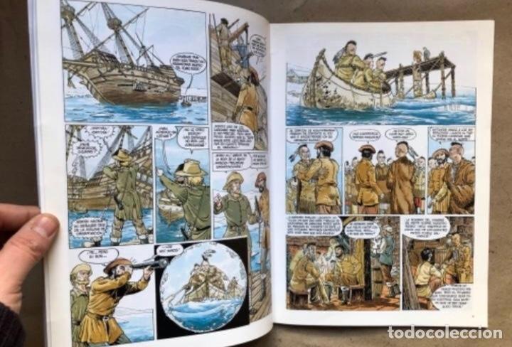 Cómics: JUSTIN HIRIART (MAR DE SANGRE, VIAJE MALDITO Y EL SECRETO). LOTE 3 CÓMICS DE FRUCTUOSO HARRIET. - Foto 10 - 211521530