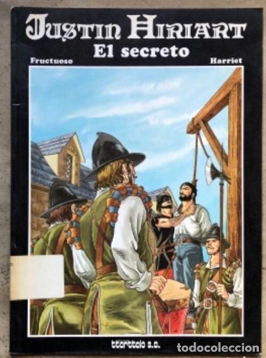 Cómics: JUSTIN HIRIART (MAR DE SANGRE, VIAJE MALDITO Y EL SECRETO). LOTE 3 CÓMICS DE FRUCTUOSO HARRIET. - Foto 12 - 211521530