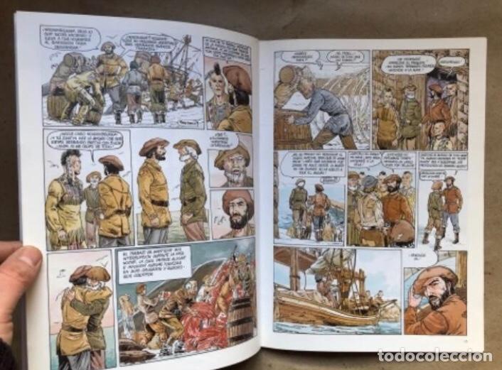 Cómics: JUSTIN HIRIART (MAR DE SANGRE, VIAJE MALDITO Y EL SECRETO). LOTE 3 CÓMICS DE FRUCTUOSO HARRIET. - Foto 14 - 211521530