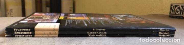 Cómics: JUSTIN HIRIART (MAR DE SANGRE, VIAJE MALDITO Y EL SECRETO). LOTE 3 CÓMICS DE FRUCTUOSO HARRIET. - Foto 17 - 211521530