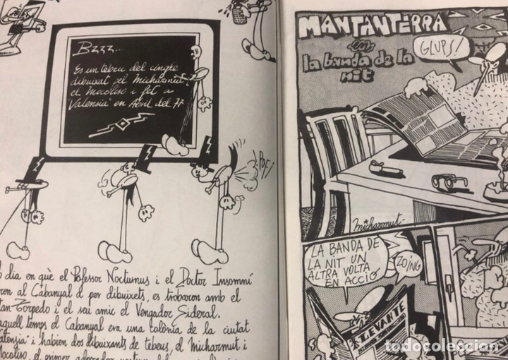 Cómics: BZZZ ELS TEBEUS DEL CINGLE (VALENCIA 1977). HISTÓRICO FANZINE ORIGINAL. - Foto 2 - 211521625