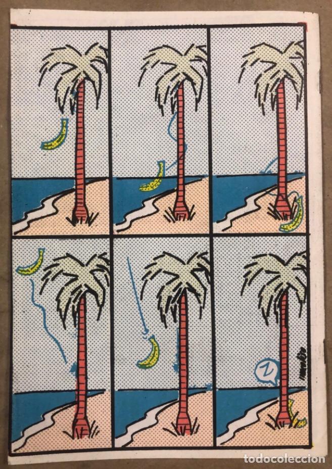 Cómics: BZZZ ELS TEBEUS DEL CINGLE (VALENCIA 1977). HISTÓRICO FANZINE ORIGINAL. - Foto 6 - 211521625