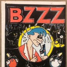 Cómics: BZZZ ELS TEBEUS DEL CINGLE (VALENCIA 1977). HISTÓRICO FANZINE ORIGINAL.. Lote 211521625