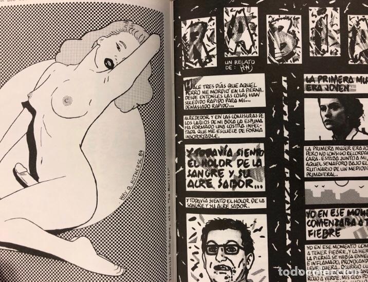 Cómics: LA FUL EN EL BUL N° 3 y 4 (BARCELONA 1984). HISTÓRICO FANZINE; HISTORIETAS. VV.AA. - Foto 4 - 211521645