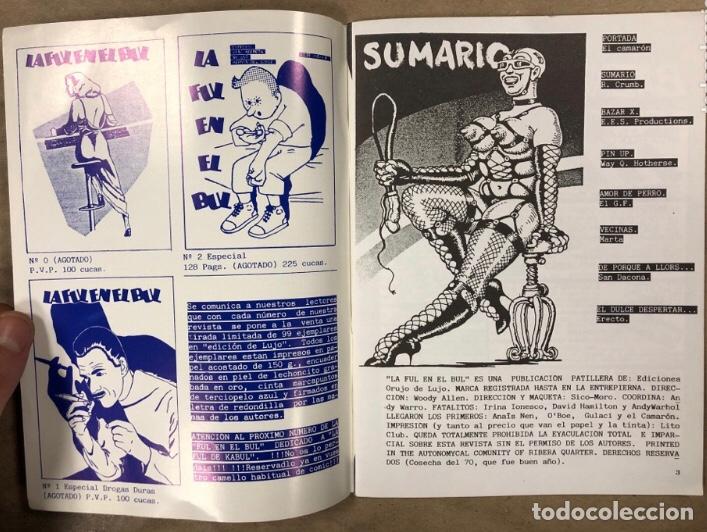 Cómics: LA FUL EN EL BUL N° 3 y 4 (BARCELONA 1984). HISTÓRICO FANZINE; HISTORIETAS. VV.AA. - Foto 6 - 211521645