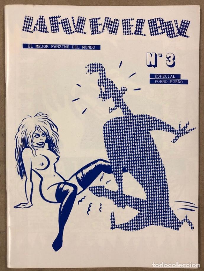 LA FUL EN EL BUL N° 3 Y 4 (BARCELONA 1984). HISTÓRICO FANZINE; HISTORIETAS. VV.AA. (Tebeos y Comics Pendientes de Clasificar)
