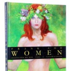 Cómics: WOMEN. SELECCIÓN DE DIBUJOS E ILUSTRACIONES (FRANK CHO) ALETA, 2008. OFRT ANTES 19,9E. Lote 211633964