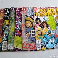 Cómics: LOTE DE 6 CÓMIC JUSTICE LEAGUE ( EN INGLÉS ). Lote 211660909