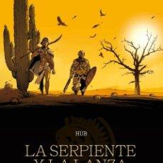 Cómics: CÓMICS. LA SERPIENTE Y LA LANZA 1 - HUB (CARTONÉ). Lote 211664581
