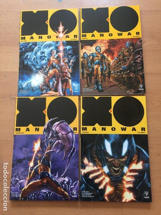 XO MANOWAR 4 VOLUMENES VALIANT, MEDUSA COMICS (Tebeos y Comics - Comics otras Editoriales Actuales)