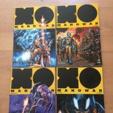 Cómics: XO MANOWAR 4 VOLUMENES VALIANT, MEDUSA COMICS. Lote 211959372