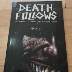 Cómics: DEATH FOLLOWS, CULLEN BUNN, S,C ZAMUDIO, CARLOS NICOLAS ZAMUDIO, OBRA COMPLETA MEDUSA COMICS. Lote 211961097