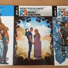 Cómics: LAS AVENTURAS DE ARCHER Y ARMSTRONG, 3 VOLUMENES COMPLETO, MEDUSA COMICS, VALIANT. Lote 211973683