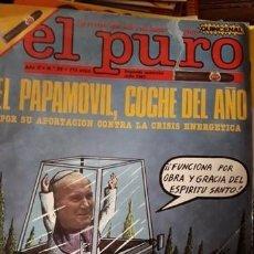 Cómics: LOTE 11 REVISTAS DE HUMOR EL PURO.. Lote 211996085