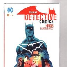 Cómics: BATMAN DETECTIVE COMICS : HEROES SANGRIENTOS - ECC / DC / TAPA DURA. Lote 212003010