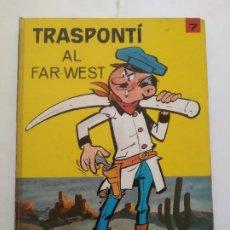 Cómics: TRANSPONTI AL FAR-WEST - VERSIÓN CATALANA DE BERCK - JAIMES LIBROS CÓMIC. Lote 212286751