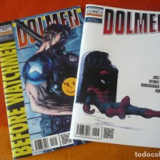 Cómics: DOLMEN NºS 208 Y 213 ( SPIDERMAN WHEDON IRON MAN 3 WATCHMEN) ¡MUY BUEN ESTADO! REVISTA DE COMIC 2013. Lote 212347671