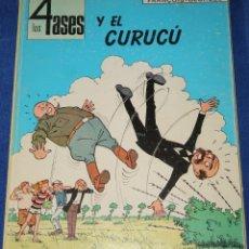 Cómics: LOS 4 ASES Y EL CURUCÚ - OIKOS TAU (1ª EDICIÓN 1969). Lote 212892178