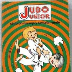 Fumetti: JUDO JUNIOR - CINTURON NARANJA Y CINTURON VERDE - COMIC. Lote 212969482