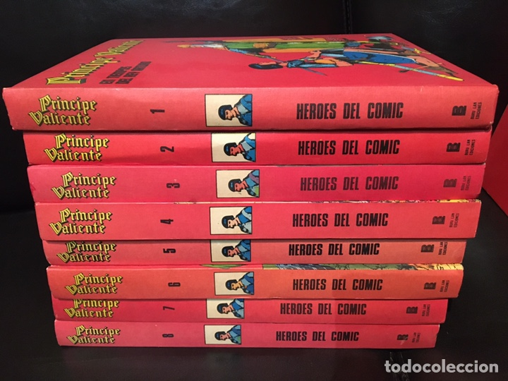 PRÍNCIPE VALIENTE - BURULAN BURU LAN - 8 TOMOS - COMPLETA (Tebeos y Comics - Buru-Lan - Principe Valiente)