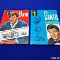 Cómics: EL SANTO- COMIC- SERIE ANTIGUA- TOMO 1 Y 2 - LOTE. Lote 213027416