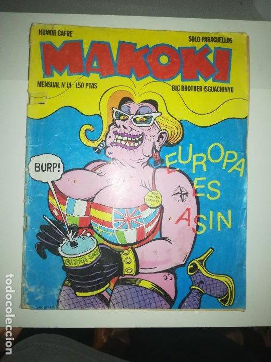 MAKOKI #14 (Tebeos y Comics - Comics otras Editoriales Actuales)