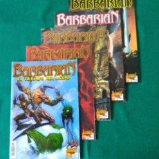 Cómics: BARBARIAN - EL TRIUNFO DEL ACERO - NÚMEROS 1,2,3,4 Y 5 - COLECCIÓN COMPLETA- ULTIMATE COMICS. Lote 213223903