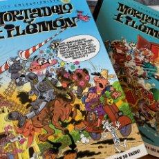 Comics : MORTADELO Y FILEMÓN. EDICIÓN COLECCIONISTA EDICIÓN 2015 COMPLETA 60 NÚMEROS + MAESTROS DEL CÓMIC MOR. Lote 213240700