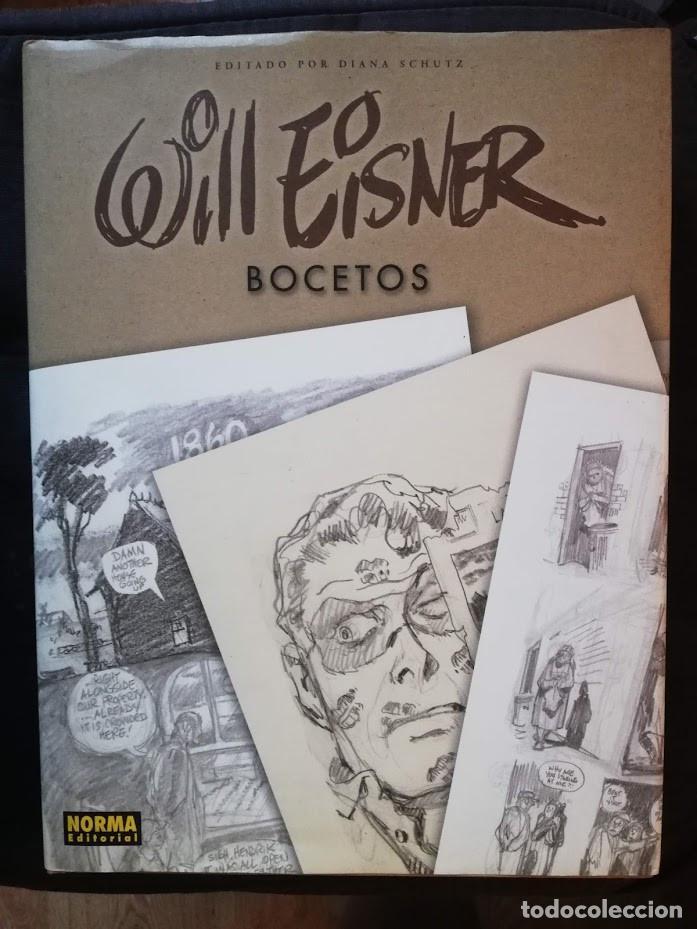 WILL EISNER - BOCETOS - NORMA EDITORIAL (Tebeos y Comics Pendientes de Clasificar)