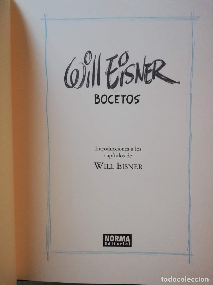 Cómics: WILL EISNER - BOCETOS - NORMA EDITORIAL - Foto 3 - 213357951