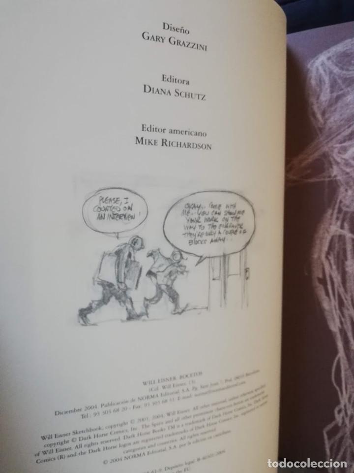 Cómics: WILL EISNER - BOCETOS - NORMA EDITORIAL - Foto 5 - 213357951