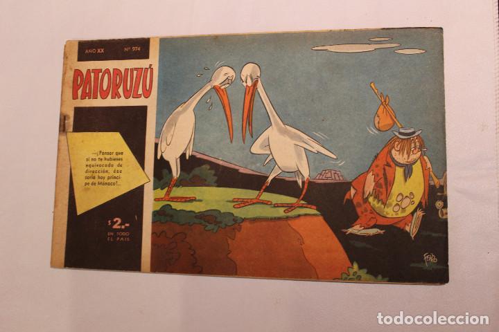 REVISTA PATORUZU NUM. 974 AÑO 1956 - IMPECABLE ESTADO - ANTIGUO COMIC ARGENTINO (Tebeos y Comics Pendientes de Clasificar)