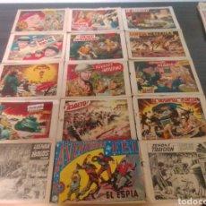 Cómics: LOTE DE COMICS DE HAZAÑAS BELICAS Y ALCAZAR Y PEDRIN TODO LO QUE SE VE....TEBEOS COMICS. Lote 213481917