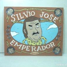 Cómics: COMIC - SILVIO JOSE EMPERADOR - EL JUEVES 1ª EDICION MARZO 2009 - PACO ALCAZAR LIBRO HISTORIETAS. Lote 213607306