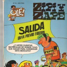 Cómics: OLÉ!. Nº 16. ZIPI Y ZAPE. EDC. B. 2ª EDC. 2000.(P/C60). Lote 213615306